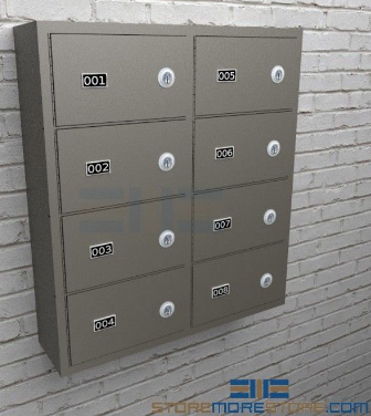 wall-mounted gun cabinets for temporary firearm storage