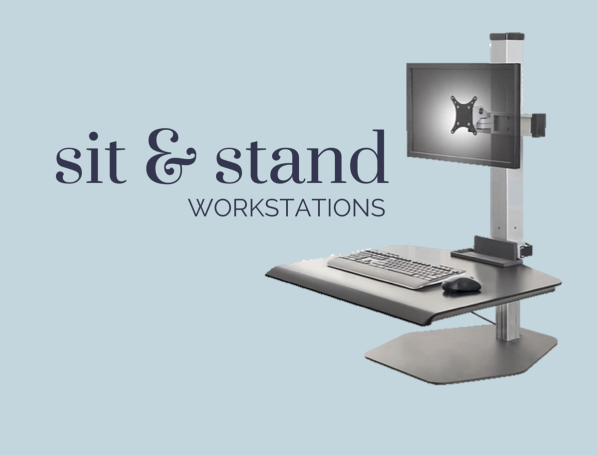 ergonomic adjustable sit & stand workstations
