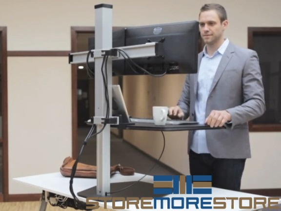 height adjustable sit & stand workstations