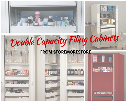 double capacity filing cabinets