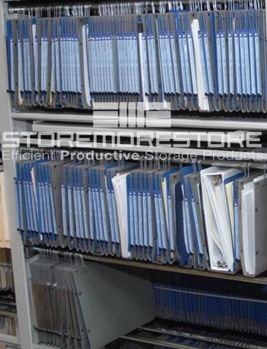 oblique compartments organize paper filing system