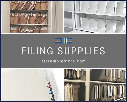 filing supplies folders dividers labels