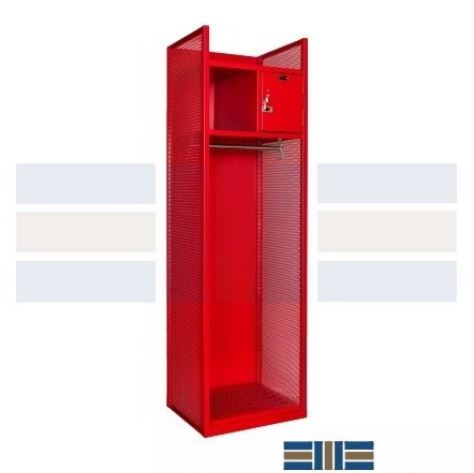 turnout lockers for firefighter gear storage