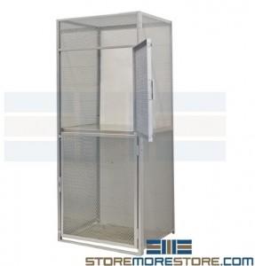 wire mesh bulk lockers