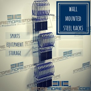 wall mounted steel racks