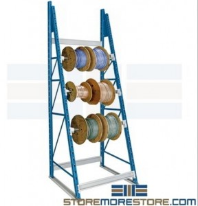 wire spool storage racks