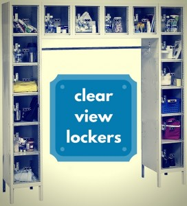 clear view lockers