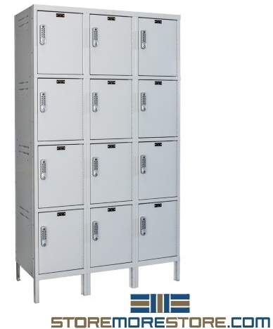 electronics and laptop charging powered storage lockers