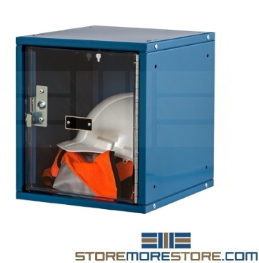 modular stackable locker cubes