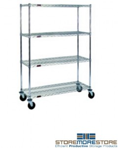 mobile shelving carts