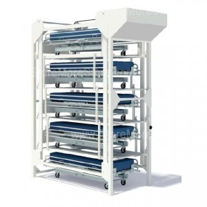 stacking hospital bed storage lifts