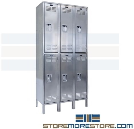 stainless steel rust free lockers