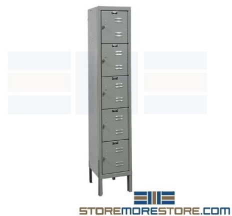 economy box lockers five tier