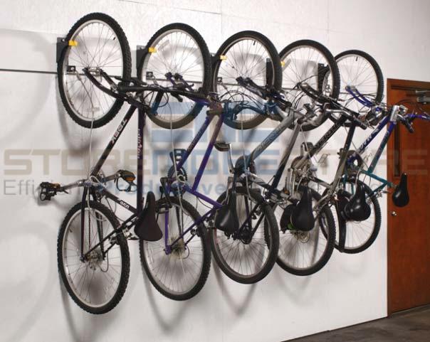 vertical bicycle hangers