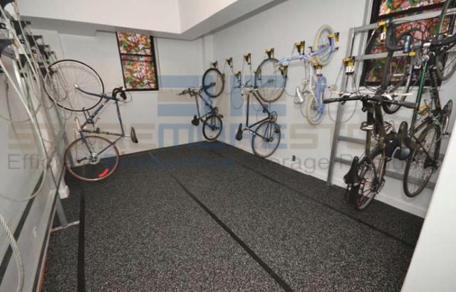 wall mounted hanging bike hooks