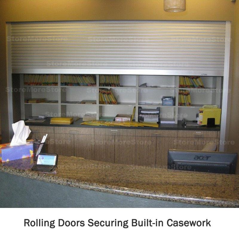 automatic roll down locking doors