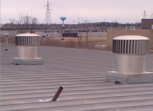 ventilating wind turbines with no electricity