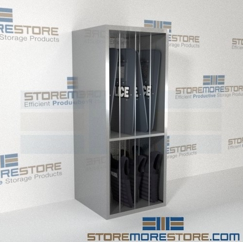 riot shield ballistic vest racks