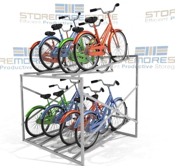 indoor bike storage racks