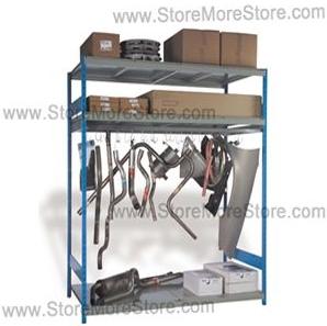 automotive parts equipment specialty racks