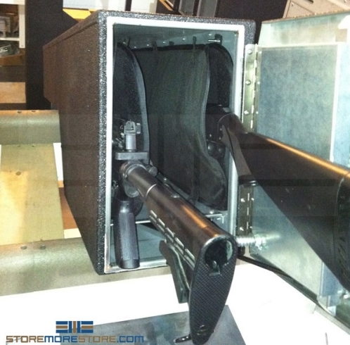 trunk firearm gun safe lockers