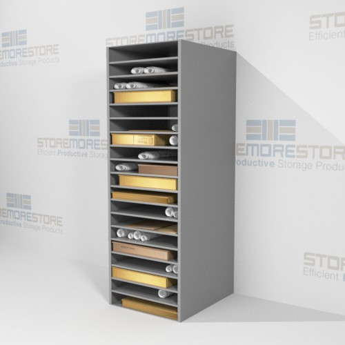 solander box shelving storage works on paper