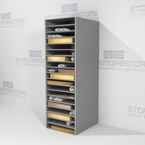 solander box shelving storage works on paper