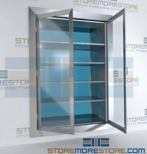 stainless steel clean hygienic cabinets
