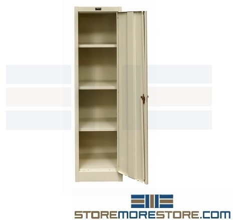 slim storage cabinets