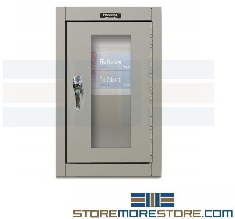 wall mounted slim industrial cabinet
