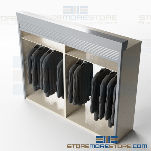 hanging garment cabinets