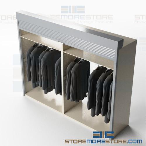 hanging garment cabinets