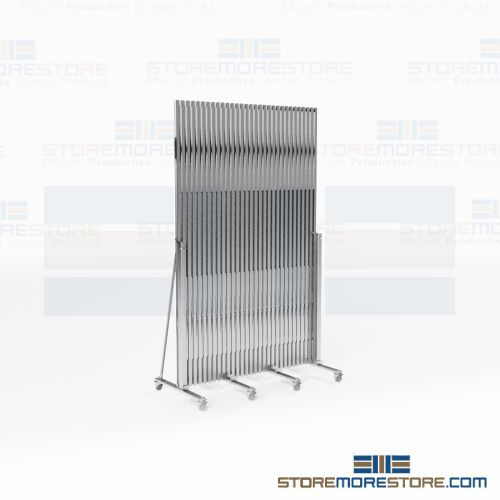 accordion folding security gates crowd control