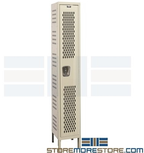 airflow circulation ventilated lockers