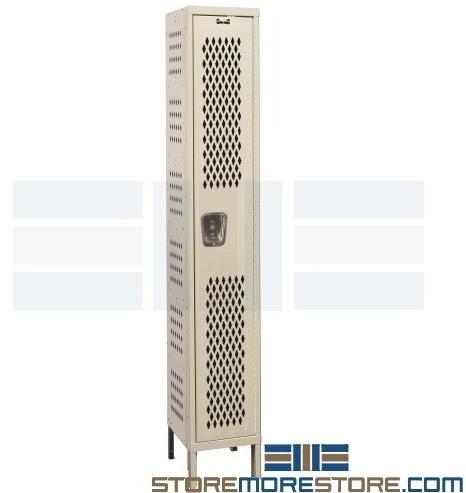 airflow circulation ventilated lockers
