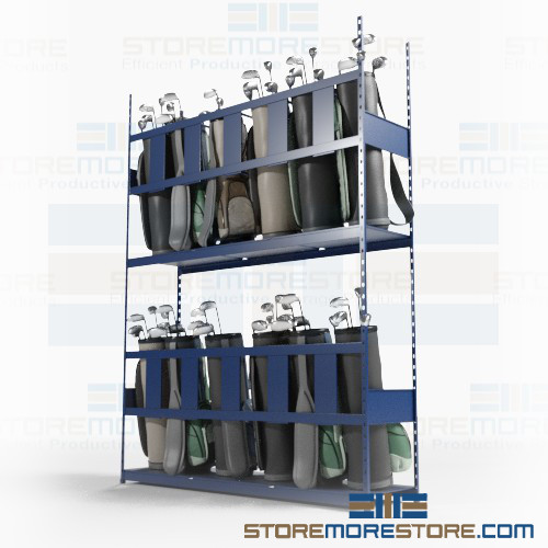 golf bag storage racks