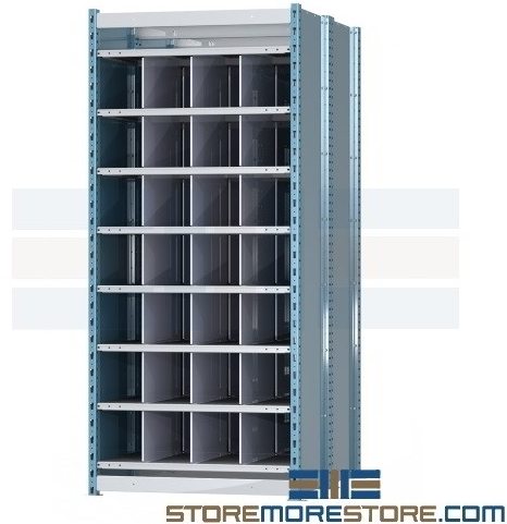 pigeon hole racks long material storage
