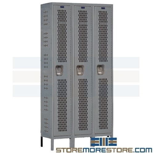 ventilated box lockers
