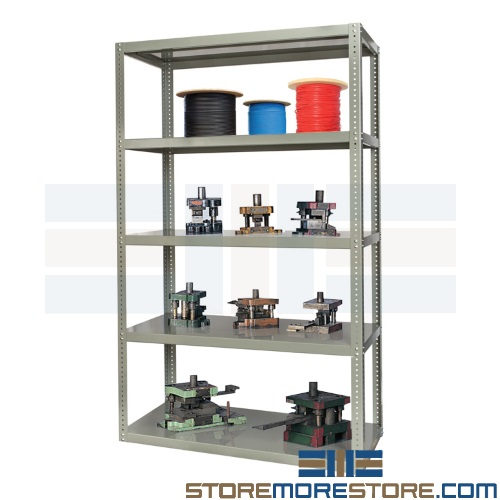 high capacity storage racks reinforced bolted