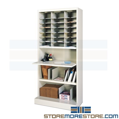 mail literature sorting cabinets