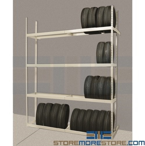 tire storage racks wheel display shelving