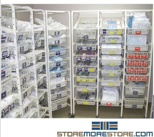 bin shelving supply partition racks