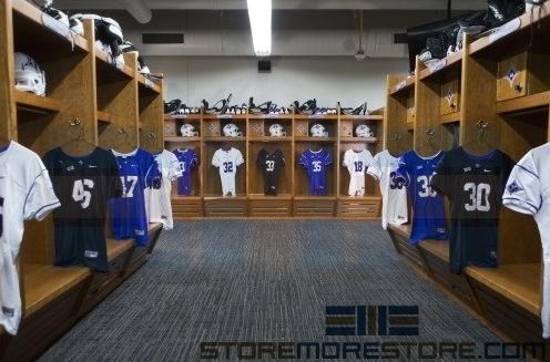 game day sport gear storage lockers