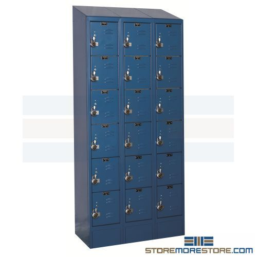 pre-assembled lockers