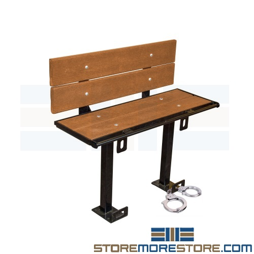 prisoner restraint benches