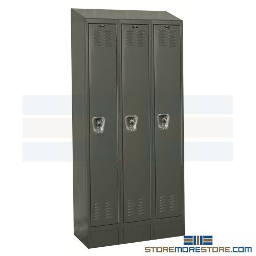 slope top quick ship readybuilt lockers