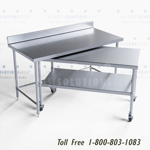 nested mobile work tables