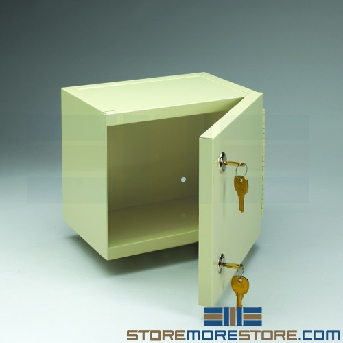 double locking narcotics cabinet