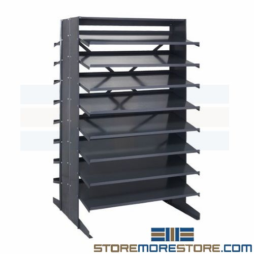 sloped pick racks
