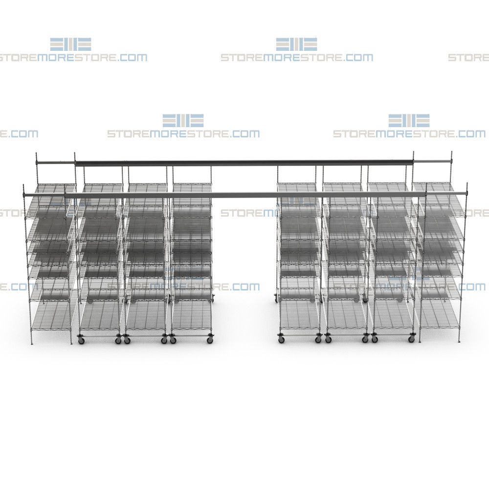 overhead wire sliding storage